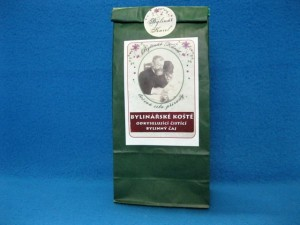 Bylinářské koště odkyselující čistící čaj