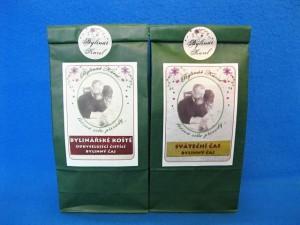 Bylinářské koště a Sváteční čas jsou bylinné čaje