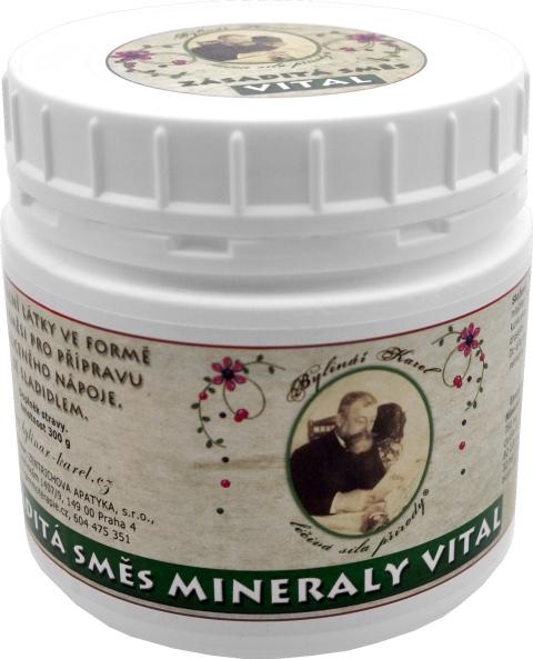 Zásaditá směs MINERALY Vital s vitamíny a stopovými prvky
